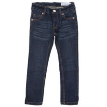 Kids slim fit dark blue jeans