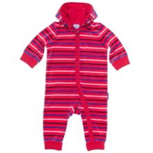 Babys striped all-in-one