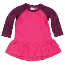 Baby girls embroidered heart dress