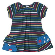 Baby girls po.p stripe dress