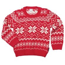 Kids swedish snowflake sweater