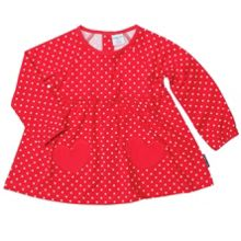 Baby girls heart pocket top