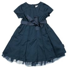 Girls satin party dress