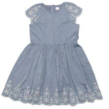 Girls broderie dress