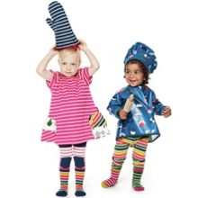Baby girls po.p stripe tights