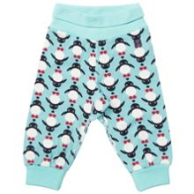 Baby colourful animal print trousers