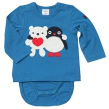 Baby colourful animal bodysuit