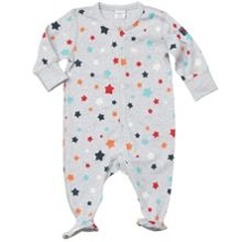 Baby colourful all-in-one pyjamas