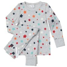 Kids star print pyjamas