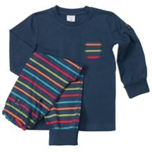 Kids po.p stripe pyjamas