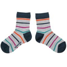 Kids merino wool multistripe socks