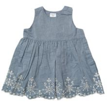 Baby girls dress with embroidery