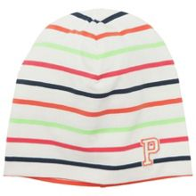 Kids striped beanie hat