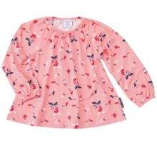 Baby girls fun print top