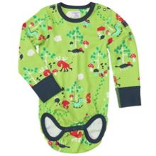 Babies colourful forest bodysuit
