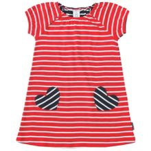 Girls po.p striped dress
