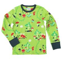 Kids colourful forest top