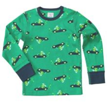 Boys elk print top