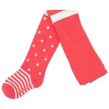 Baby girls dots and stripes tights