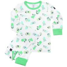 Kids rabbit print pyjamas
