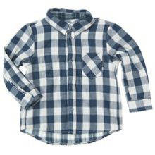 Baby boys reversible shirt