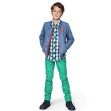 Kids colourful denims