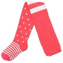 Girls dots and stripes tights