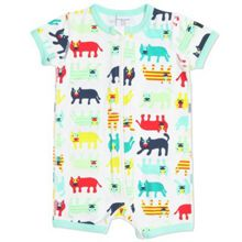 Babies big cat all-in-one pyjamas