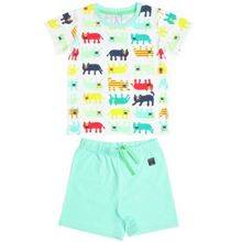 Kids big cat shortie pyjamas