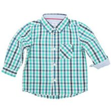 Baby boys smart check shirt
