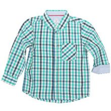 Boys smart check shirt