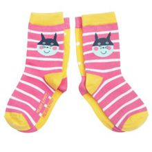 Babies 2 pack animal motif socks