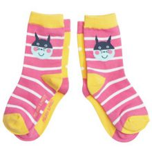 Kids 2 pack animal motif socks