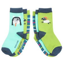 Kids 3 pack animal socks