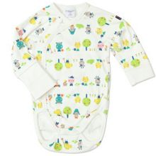 Babies animal motif bodysuit
