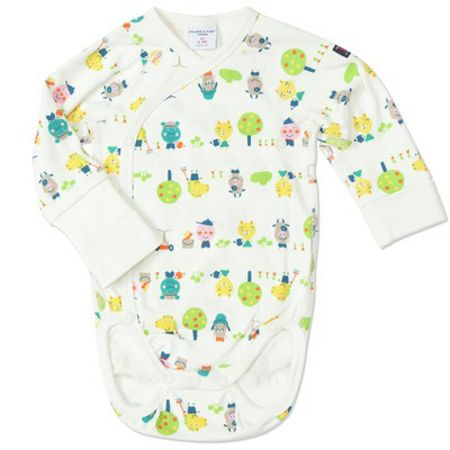 Polarn O. Pyret Babies animal motif bodysuit