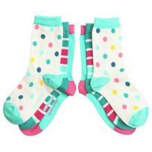 Kids 3 pack colourful socks