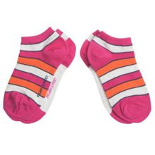 Kids 2 pack colourful ankle socks