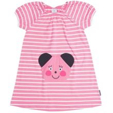 Girls animal appliqué dress