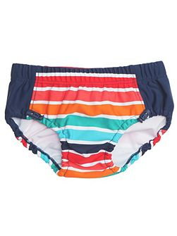Baby boys striped swimming trunks