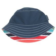 Kids colourful reversible sun hat