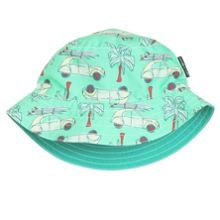 Babies colourful reversible sun hat