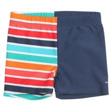 Polarn O. Pyret Baby boys colourful swimming trunks