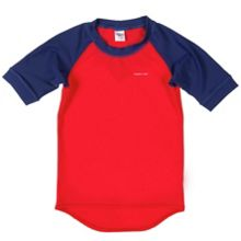 Kids uv sun safe swim top