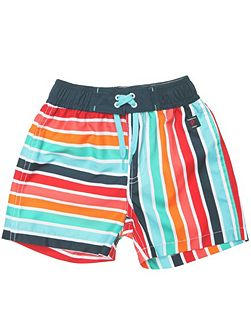 Boys striped board shorts