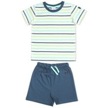 Kids striped shorties pyjamas