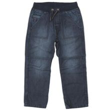 Kids washed denim trousers