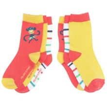 Babies 3 pack bright socks