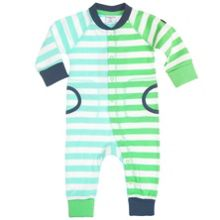 Babies striped all-in-one