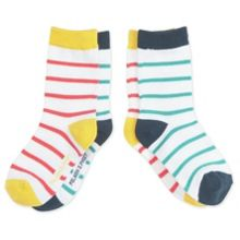 Babies 2 pack striped socks